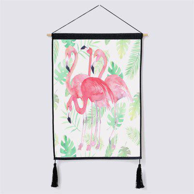 Modern Style Fabric Hanging Paintings for Wall Decor