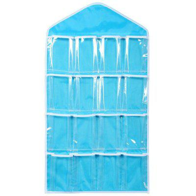 16 Lattice Pouch Storage Bags for Convenience and Non Occupying Position