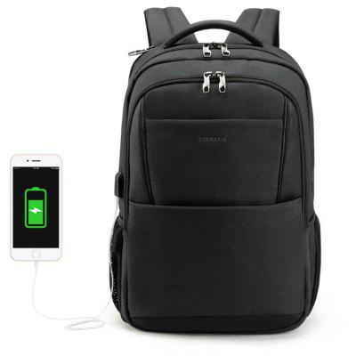 Image result for 2018 Tigernu Brand New Design Male Mochila 15.6 Anti-theft laptop backpack USB Charging Backpack waterproof Schoolbag