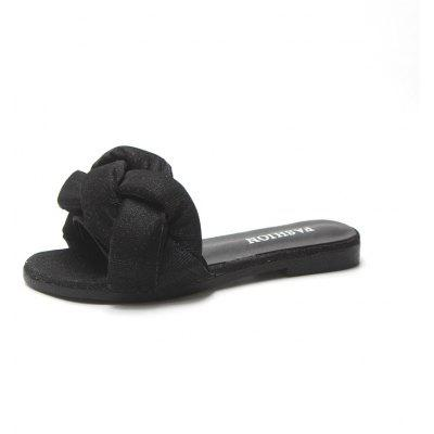 Casual and Flashing Twist of Fashion Slippers