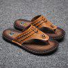 Slippers Beach Summer Breathable Sandals Shoes Leisure Flats Sneakers - CAMEL BROWN