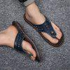 Slippers Beach Summer Breathable Sandals Shoes Leisure Flats Sneakers - MIDNIGHT BLUE