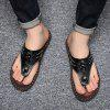 Slippers Beach Summer Breathable Sandals Shoes Leisure Flats Sneakers - BLACK