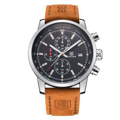 BENYAR BY5102 Fashion Chronograph Sport Mens Watches Luxury Quartz Watch