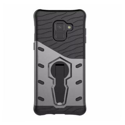 Cover Case for Samsung Galaxy A8 Plus 2018 Dual Layer Heavy Duty Hybrid Combo