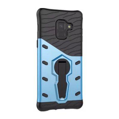 Cover Case per Samsung Galaxy A8 2018 Dual Layer Heavy Duty Hybrid Combo