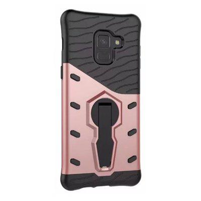 Cover Case for Samsung Galaxy A8 2018 Dual Layer Heavy Duty Hybrid Combo
