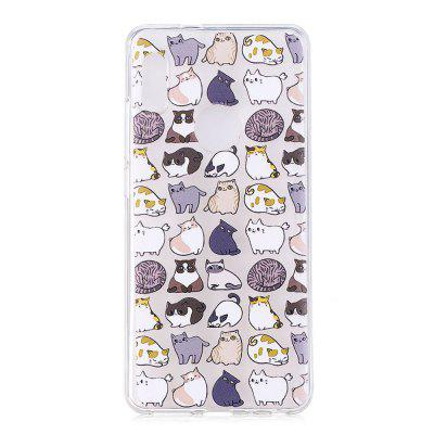 TPU Case voor Xiaomi Redmi Note 5 Pro Cat patroon