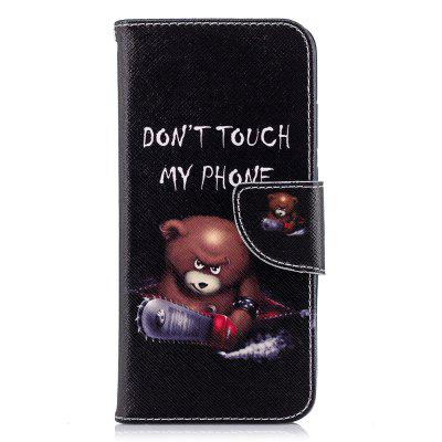 Case for Huawei P20 Bear Pattern PU Leather Wallet