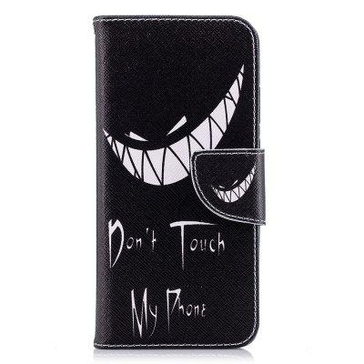 Case for Huawei P20 Bad Smile Pattern PU Leather Wallet
