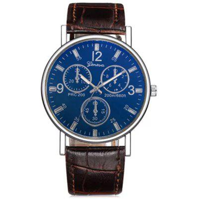 Geneva Men Analog Quartz Watch