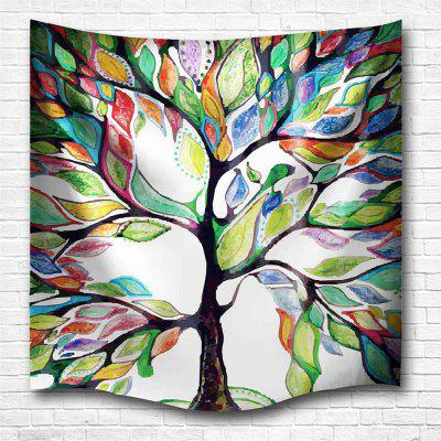 Color of The Tree 3D Printing Home Wall Hanging Tapestry for Decoration