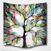 Color of The Tree 3D Printing Home Wall Hanging Tapestry for Decoration - MULTI-A