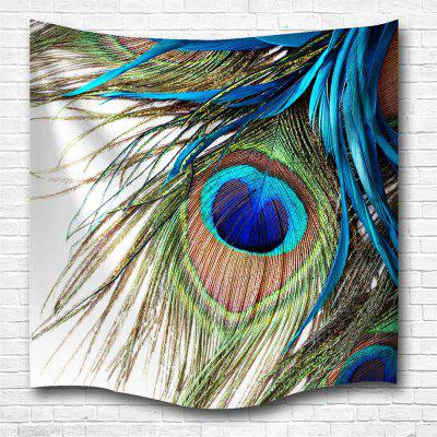 Peacock Feather 3D Printing Home Wall Hanging Tapestry for Decoration