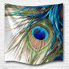 Peacock Feather 3D Printing Home Wall Hanging Tapestry for Decoration - MULTI-A