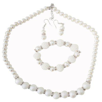 New Frosted Elegance Necklace Set
