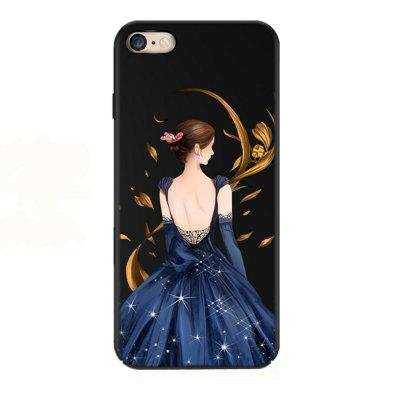The Goddess of Oil Spray Painting Drop Resistance Phone Case for iPhone6/6s