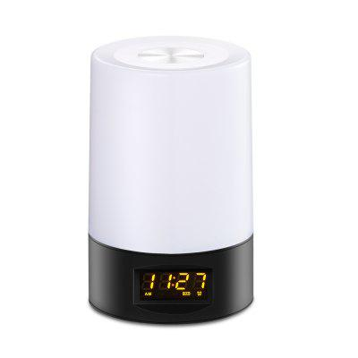 Multi-Colors Smart Touch Wake Up Light-Alarm Clock With Adjustable Night Light