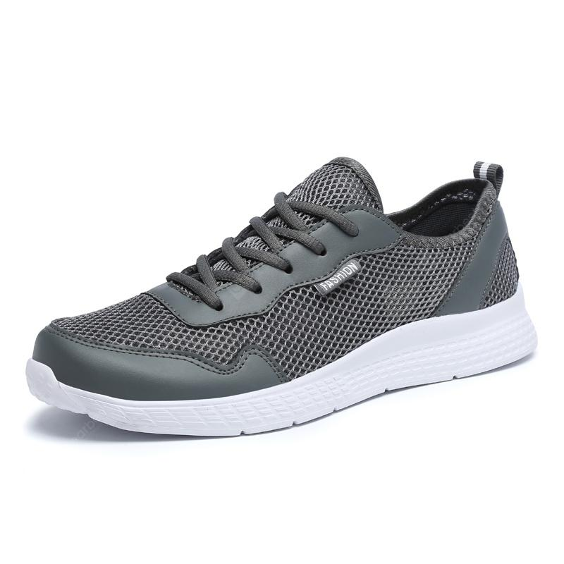 Mesh Casual Breathable Lightweight Men Sports Shoes