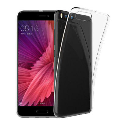 Ultra-Thin Tpu Back Cover Case for Xiaomi Mi 6 - Transparent
