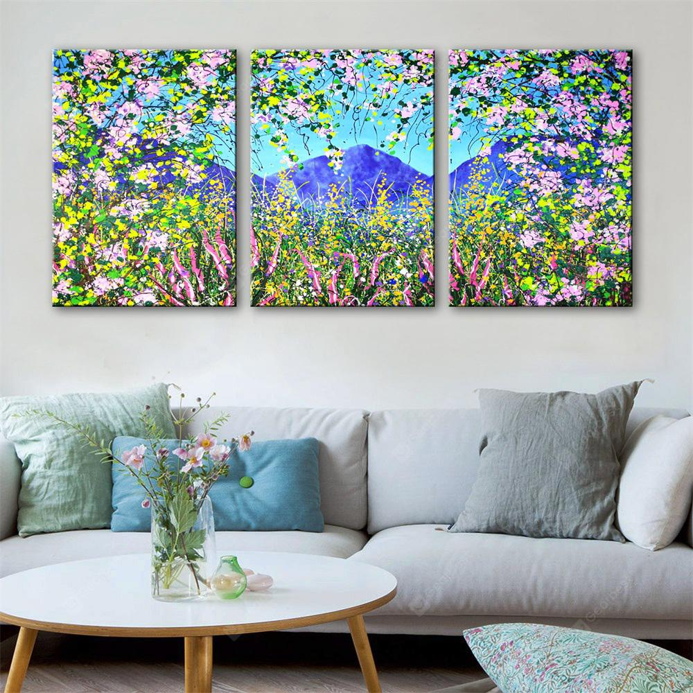 Special Design Frameless Paintings Colourful Print 3PCS