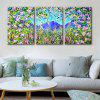 Special Design Frameless Paintings Colourful Print 3PCS - MULTI