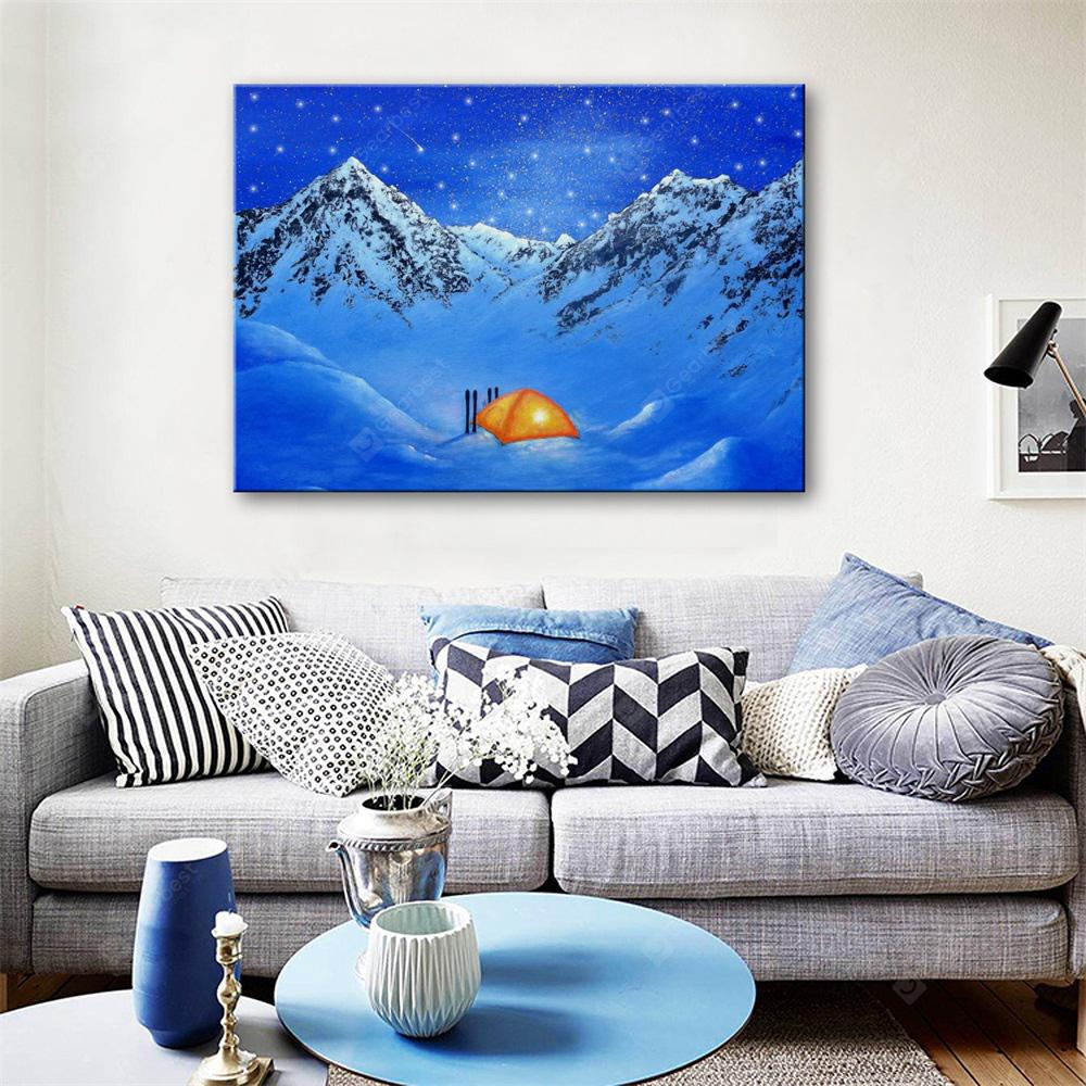 Special Design Frameless Paintings Be Stationed Print