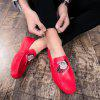 Breathable Loafers Slip on Drive Flats Leisure Shoes Comfort Sneakers - GRAPEFRUIT