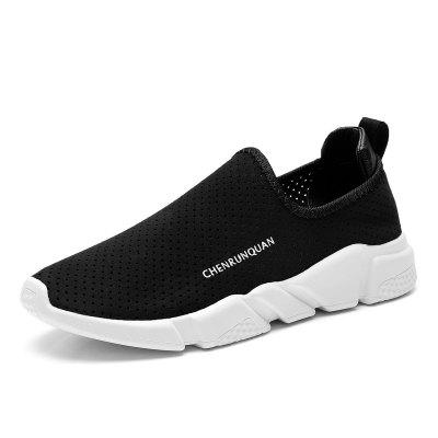 Couple Breathable Sport Hole Summer Slip on Footwear Couple Sneakers