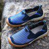 Climbing Beach Hiking Breathable Sport Hole Summer Outdoor Footwear Sneakers - BLUE