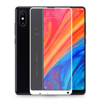Full Cover Tempered Glass Screen Protector for Xiaomi Mix 2s protective 9h tempered glass full screen guard protector back sticker for iphone 6 golden