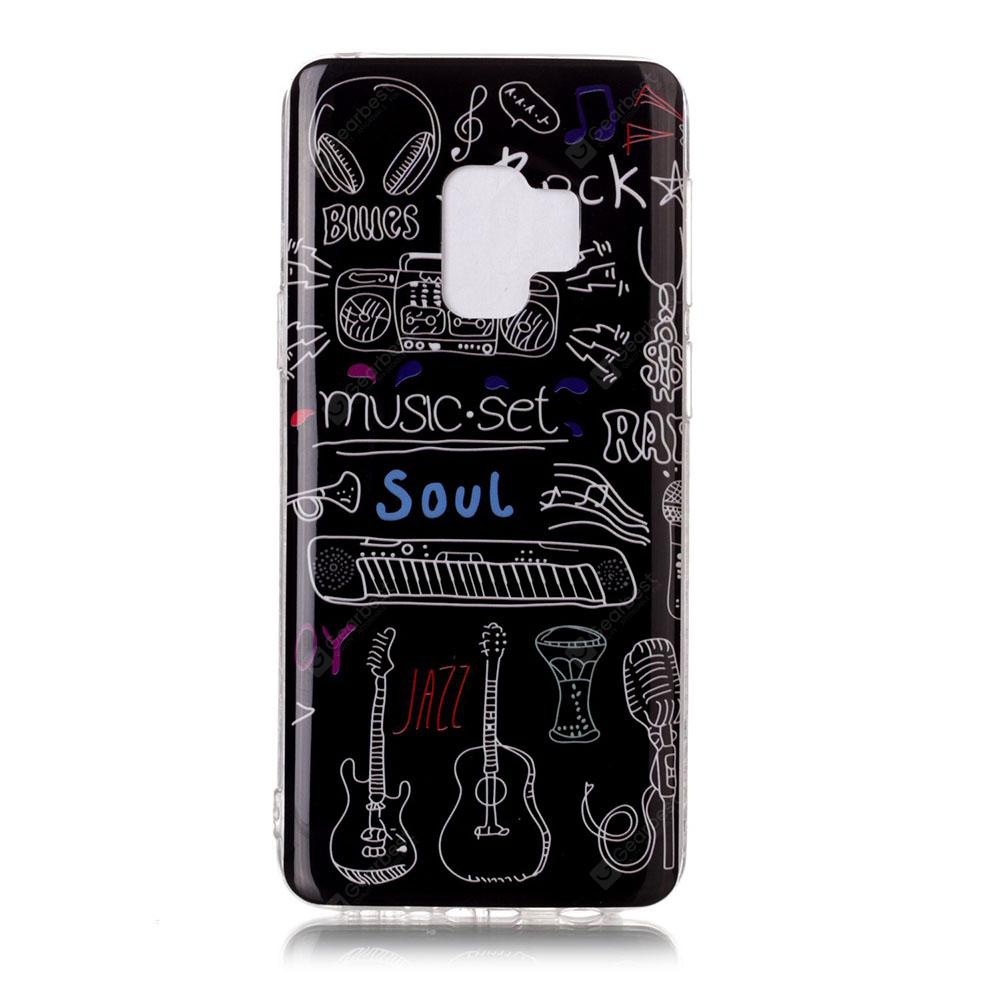 TPU Case for Samsung Galaxy S9 Letter Pattern