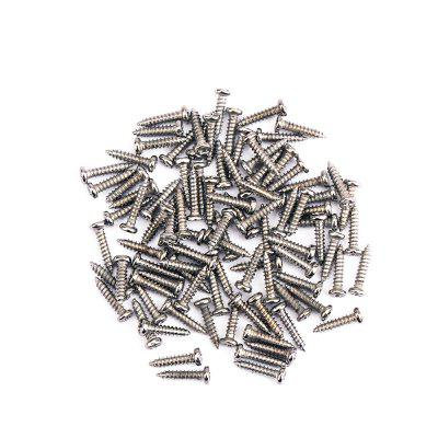 Tuning Peg Key Mounting Screws for Electric Acoustic Guitar Bass 50PCS