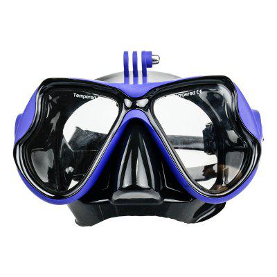 Diving Swimming Scuba Mask Goggles Face Glasses Mount for Gopro Hero 4/ 5/ 3/ 3+