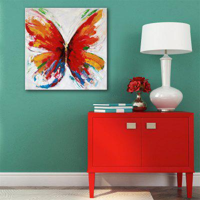 Special Design Frameless Paintings Colorful Butterfly Print