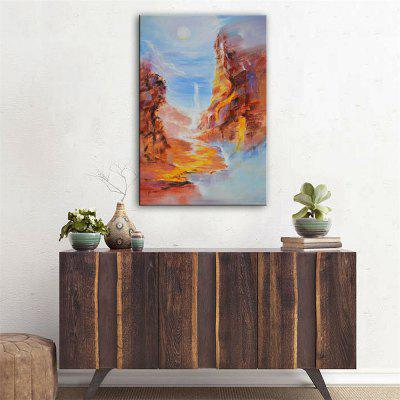 Special Design Frameless Paintings Canyon Print