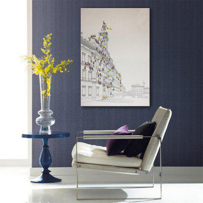 Special Design Frameless Paintings To Climb Print