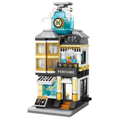 LOZ Street Scene série Mini Perfume Store Blocks Toy