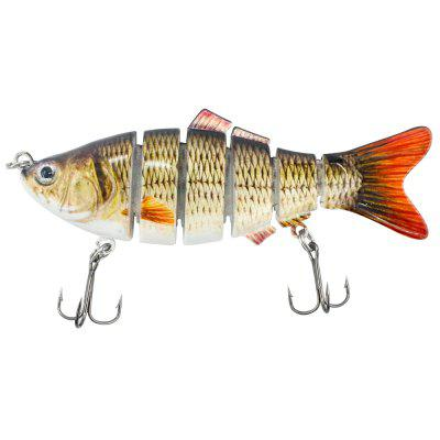 6 Section Hard Lure Multi-jointed Fishing Bait