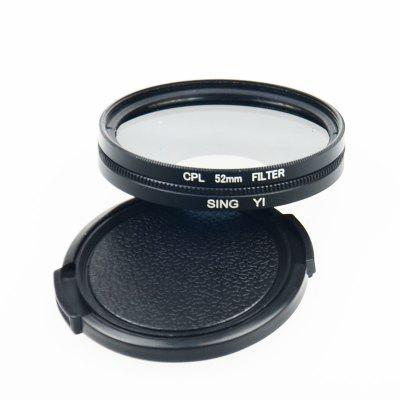 Go36 52mm CPL Polarizer Suitable for Gopro Hero 4 / 3+ / 3