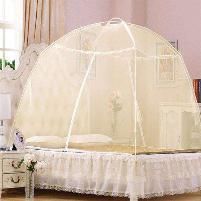 Automatically Open Home Yurt Double Mosquito Net