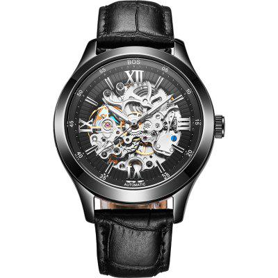 AngelaBos 9008G Automatic Mechanical Men Watch