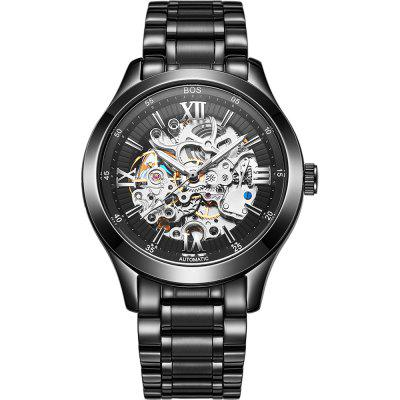 AngelaBos 9008-1G Automatic Mechanical Men Watch