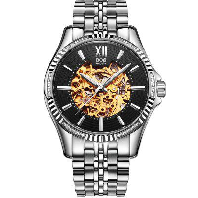 AngelaBos 9010G Automatic Mechanical Men Watch