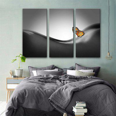 Special Design Frameless Paintings Touch Print 3PCS