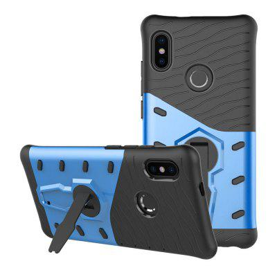 Armor 360 Stand Cover TPU+PC Shockproof Case for Xiaomi Redmi Note 5 Pro