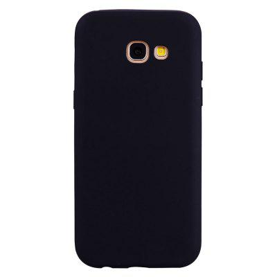Custodia in TPU per Samsung Galaxy A520 / A5 2017 Cover in silicone color caramella