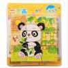 3D Cartoon Six Sides Wooden Puzzle Education Learning Tools Toy for Kids - MULTI