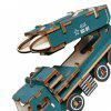 Creative Missile Car 3D Wood  DIY Laser Cut Puzzles Jigsaw Model Toy - MULTI