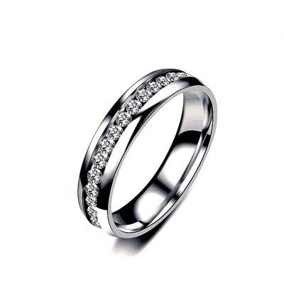 Men's Steel lovers Gold-Plated Rings 01161 Personality Gifts Jewelry